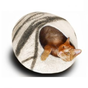 MEOWFIA Best Premium Cat Bed Cave Bed
