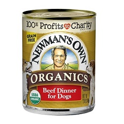 Newman's Own Organics Canned Grain Free for Dogs