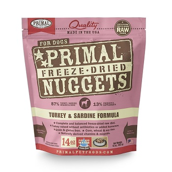 Primal Freeze-Dried Nuggets Turkey Formula for Cats