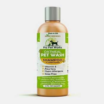 Pro Pet Works All Natural Oatmeal Dog Shampoo