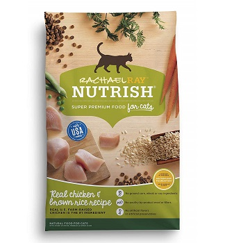 Rachael Ray Nutrish Natural Dry Chicken Cat Food