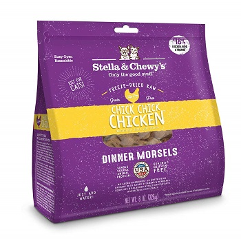 Stella And Chewy's Freeze Dried Cat Food- Chicken Dinner