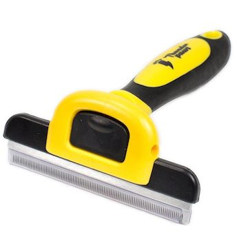 Thunderpaws Best Professional De-Shedding Tool and Pet Grooming Dog Brush