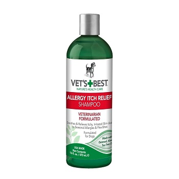 Vet's Best Allergy Itch Relief Dog Shampoo