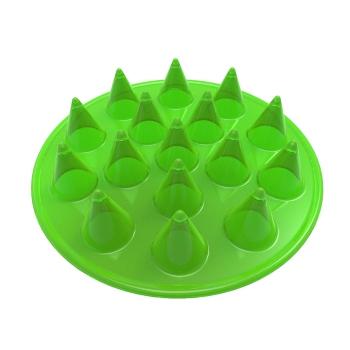 Floppy Spike Dog Frisbee interactive dog toys