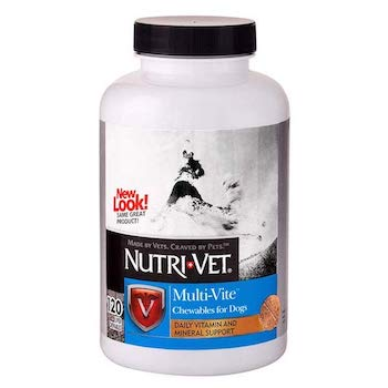 Nutri-Vet Multi-Vite Chewable dog multivitamins