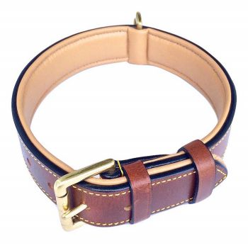 Soft Touch Leather Best Dog Collar