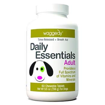 Waggedy Daily Essentials Adult Dog Vitamins Supplement