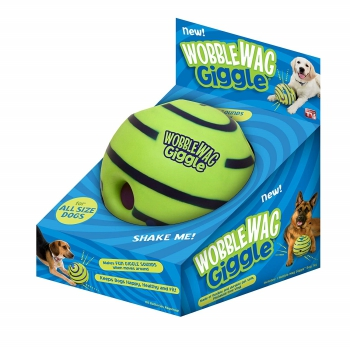 Allstar Innovations Wobble Wag Giggle Ball interactive dog toys