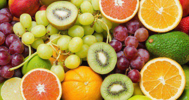 Some fruits like pineapple, papaya and pomegranate