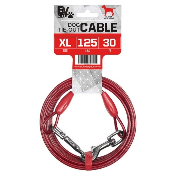 BV Pet Heavy Extra-Large Tie Out Cable