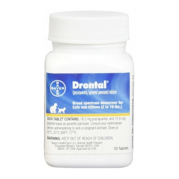 Bayer Drontal Best Over the Counter Cat Dewormer