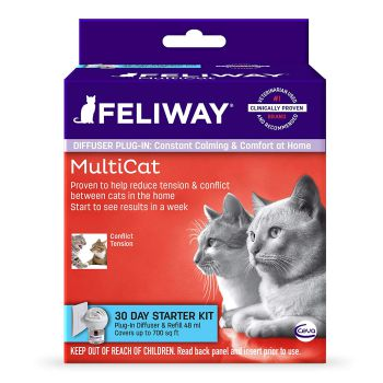 Ceva Feliway Animal Health MultiCat Starter Kit