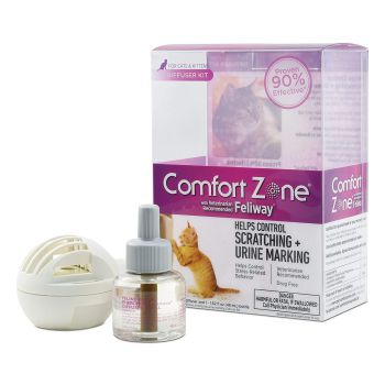 Comfort Zone Cat Calming Diffuser Kit