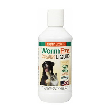 Durvet WormEze Liquid Tapeworm Medicine for Cats