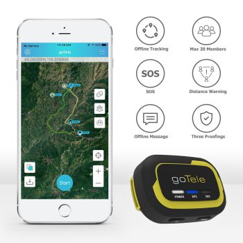 goTele GPS Tracker for Dogs