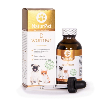 Naturpet D Wormer Natural Dewormer for Cats