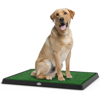 Petmaker Puppy Potty Trainer with Fake Grass Patch