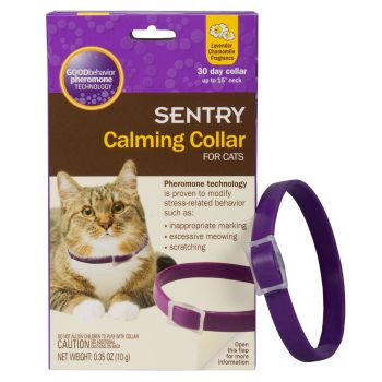Sentry Calming Diffuser Collar for Cats