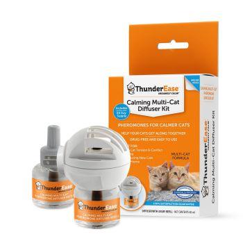 ThunderEase Multicat Calming Cat Diffuser Kit