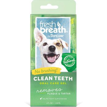 Tropiclean Fresh Breath Pet Clean Teeth Gel