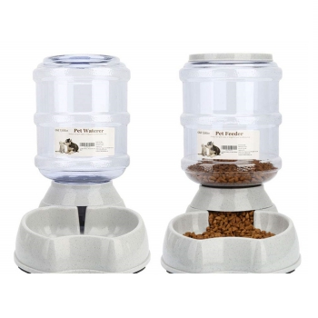 Blessed Family Cat Waterer & Cat Feeder Combo
