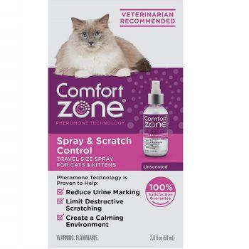 Comfort Zone Scratch Cat Calming Spray