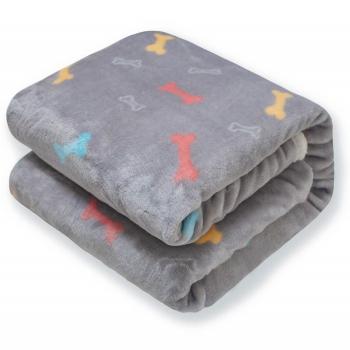 Premium Fluffy Fleece Dog Blanket by Furrybaby