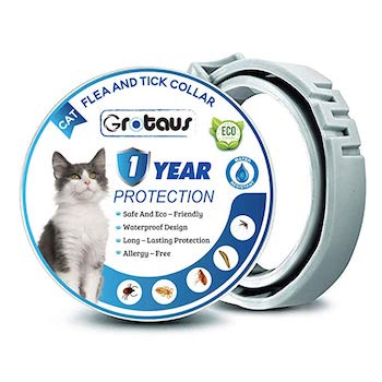 GROTAUS Flea and Tick Collar for Cats
