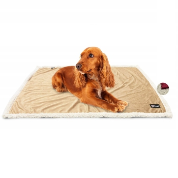 Shepa blanket from Pawsse for car, couch, and sofa