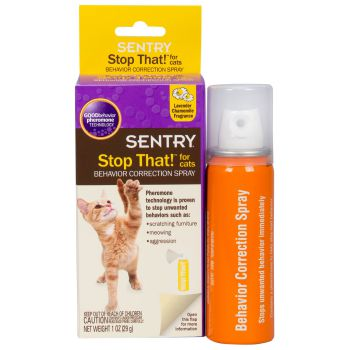 Sentry Stop That! Cat Relaxing Spray