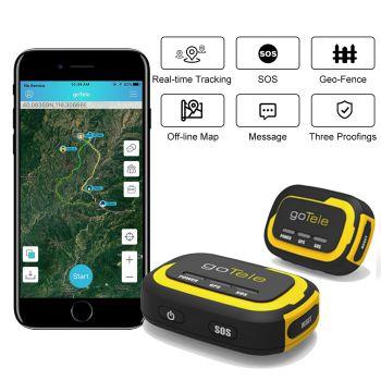 goTele Mini Portable Pet GPS Tracker