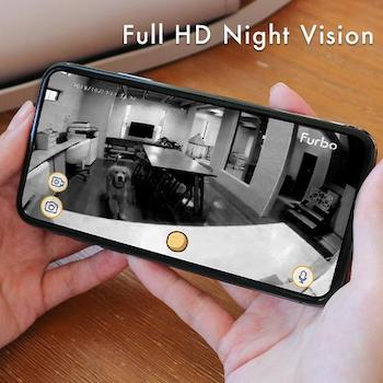 Furbo night vision camera