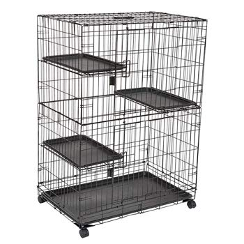 AmazonBasics Large 3-Tier Cat Cage