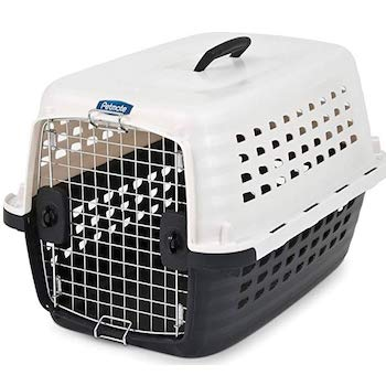 Petmate Compass Plastic Travel Crate with Chrome Door
