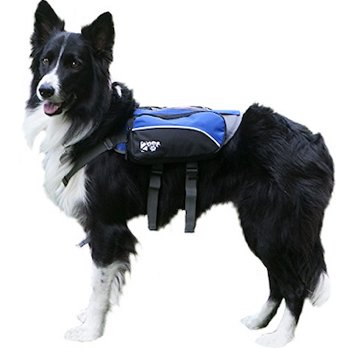 2PET Compact Saddlebag Dog Backpack for Hiking