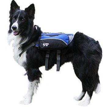 2PET Compact Saddlebag Dog Backpack for Hiking