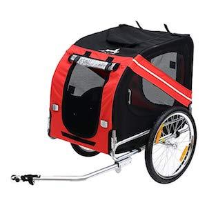 dog bike trailer