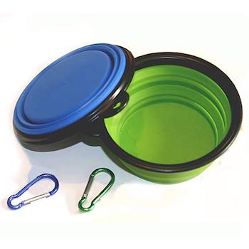 COMSUN Collapsible and Portable Dog Bowl