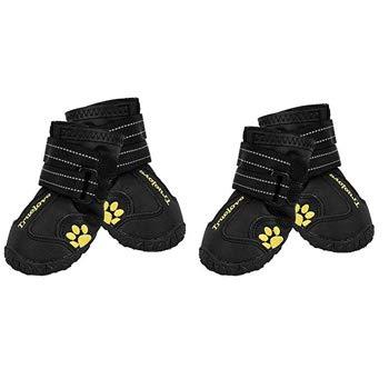 EXPAWLORER Non Slip Waterproof Dog Boots