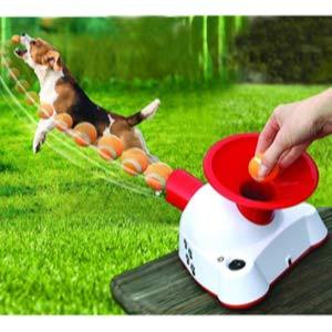 Etna Gotcha Talking Dog Fetch Toy Automatic Ball Launcher
