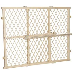 Evenflo Position and Lock Wooden Dog Gate
