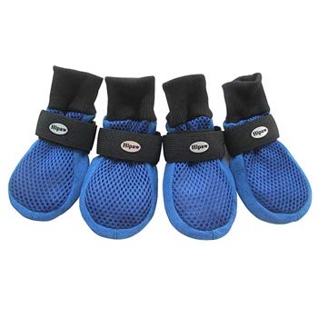 HiPaw Breathable Mesh Dog Boots for Hot Pavement