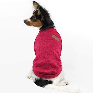 Idepet Pet Dog Classic Knitwear Fleece Sweater