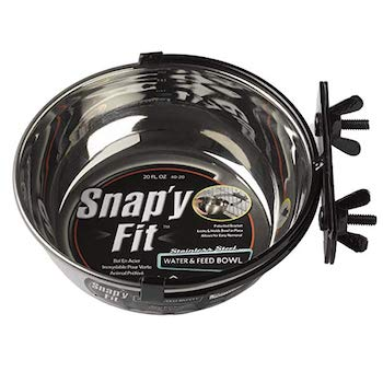 MidWest Homes for Pets Snap'y Fit Stainless Steel Food Bowl