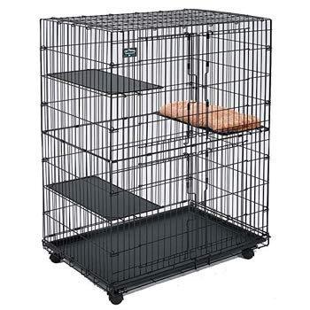 Midwest Cat Cage Includes 3 Adjustable Perching Shelves