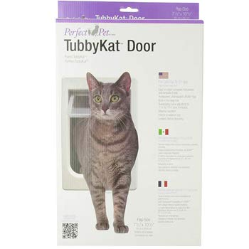 Perfect Pet TubbyKat Cat Door with 4 Way Lock