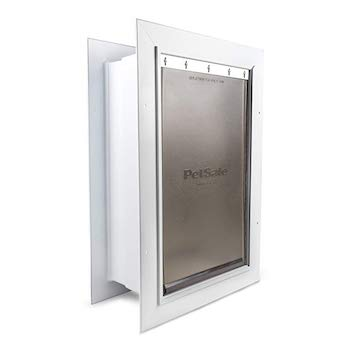 PetSafe Wall Entry Cat Door with Telescoping Tunnel