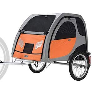 bicycle dog trailer