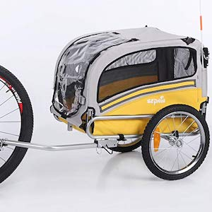 Sepnine dog cycle trailer